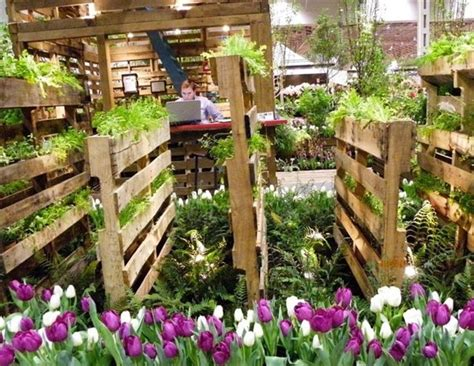 Vertical Pallet Garden Ideas For Your Backyard Or Balcony