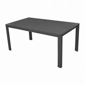 Table 6 Personnes : table de jardin mt rectangulaire gris 6 personnes leroy merlin ~ Teatrodelosmanantiales.com Idées de Décoration