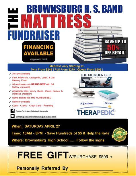 mattress sale fundraiser
