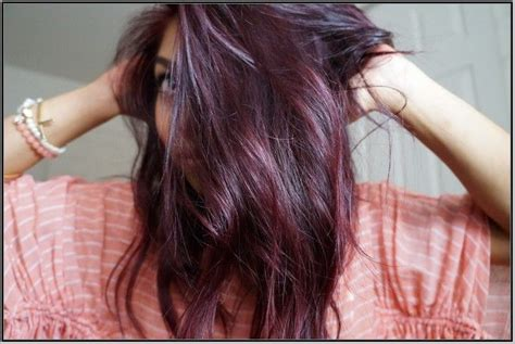 Best 25+ Burgundy Plum Hair Ideas On Pinterest