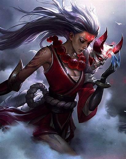 Blood Diana Moon Lol Cosplay Legends League