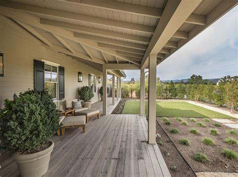 wrap around porches ideas photo gallery napa valley farmhouse with neutral interiors interior