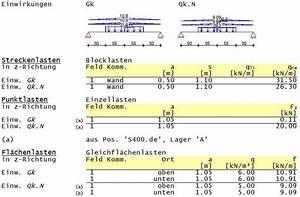 Auflager Berechnen : schnittgr enermittlung deckengleicher unterzug bsp baustatik wiki ~ Themetempest.com Abrechnung