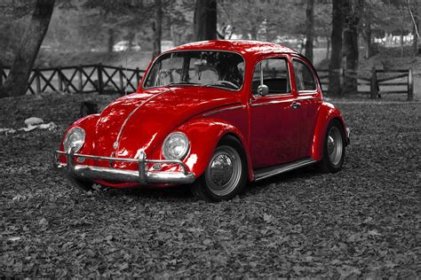 volkswagen old red classic vw bug www pixshark com images galleries
