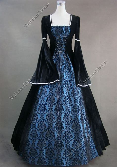 hexe kostüm gowns details about renaissance velvet dress gown 129 l i