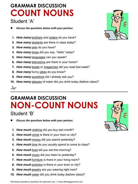 english grammar count   count nouns www