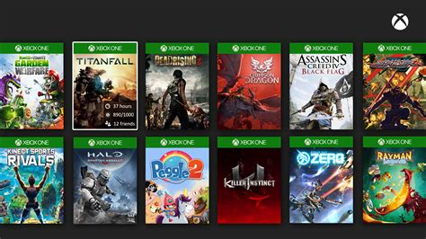 This User Made Xbox One Games Library Mockup Is Neat