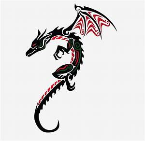 dragon tattoo designs for women | Simple Dragon Tattoos ...