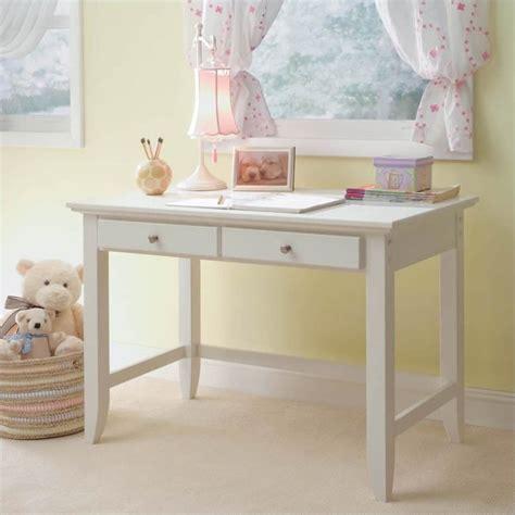 small white writing desk naples student desk in white finish 5530 16