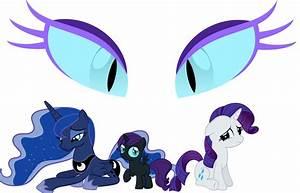 My Little Pony Nightmare Rarity Vs Nightmare Moon | www ...