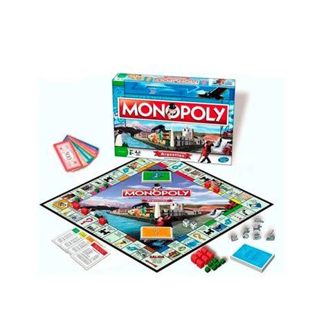 Haz de este monopoly distinto tu juego favorito para pasar noches enteras jugando o llevar contigo a reuniones divertidas. JUEGO MONOPOLY ARGENTINA - Tio Mario Jugueterías