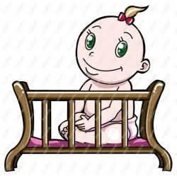 Baby Crib Clip Art