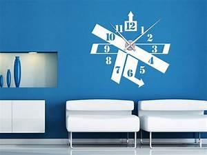 Moderne Wanduhr Wohnzimmer : moderne wanduhren wohnzimmer wandtattoo uhr moderne ~ Michelbontemps.com Haus und Dekorationen