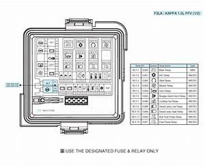 Kia Picanto - Junction Box  Engine Compartment