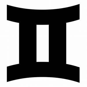 Gemini icon | Game-icons.net
