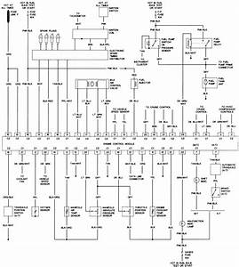 46 - 2 0l  Vin K  Engine Control Wiring Diagram