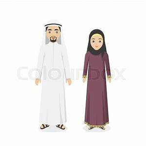 Saudi Arabia traditional clothes people. Arab traditional ...