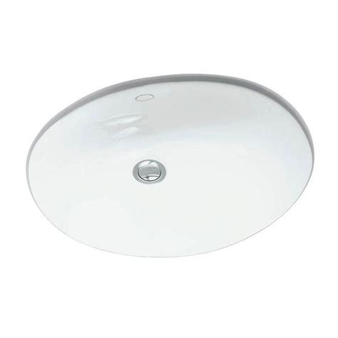 kohler caxton white undermount oval bathroom sink with overflow kohler caxton vitreous china undermount bathroom sink in