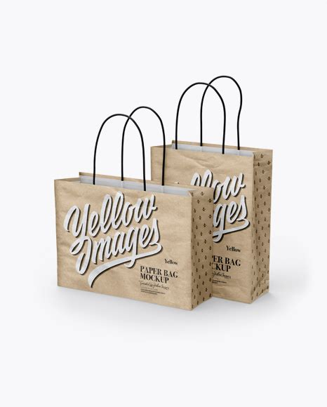 Shopping is fun, you see people would never waste the moment and opportunity to go for a shopping spree. Download Psd Mockup 3/4 Bag Bags Eurotote Golden Layer ...