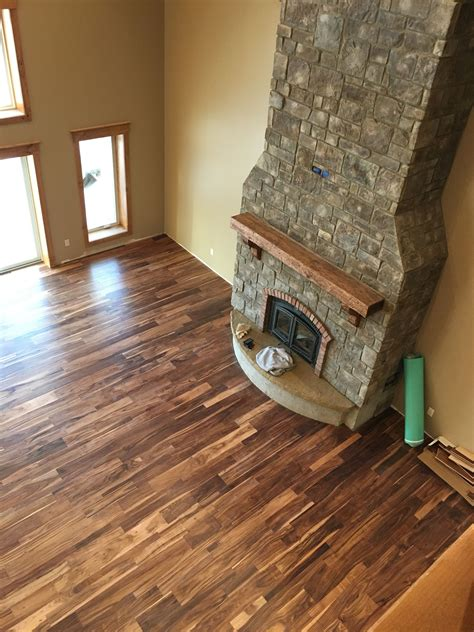 wooden flooring offers beautiful acacia wood floors offers contrast and texture paramount acacia log cabin