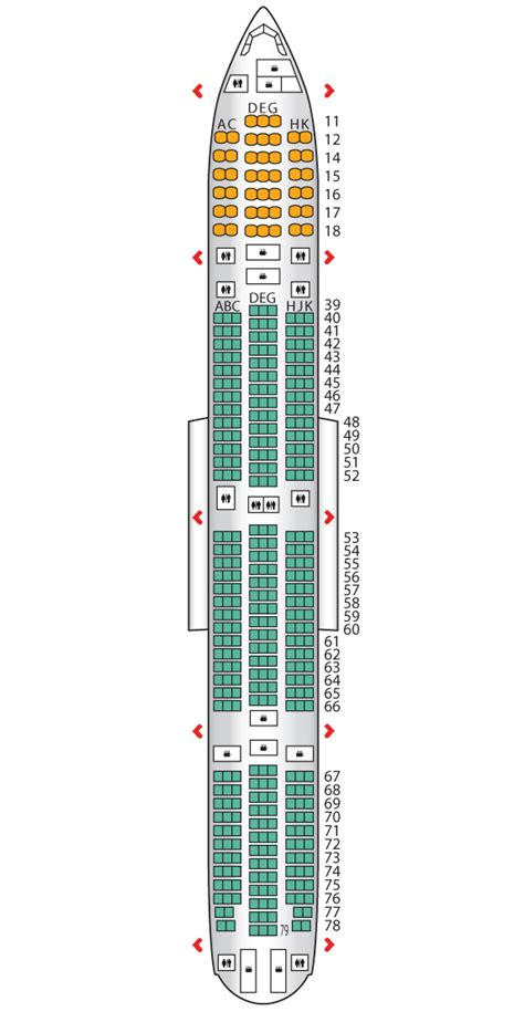 plan siege boeing 777 300er boeing 777 300er seating cathay pacific imgkid com