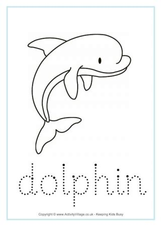 dolphin worksheets