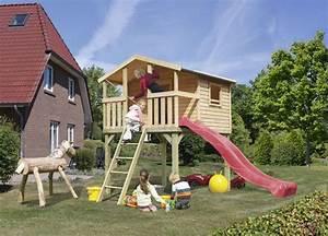 Haus Mit Rutsche : spielhaus holz mit rutsche und schaukel ~ Orissabook.com Haus und Dekorationen