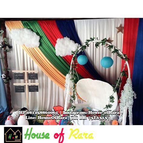 dekor aqiqah wilayah balikpapan house  rara