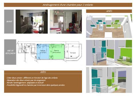 amenagement chambre 2 enfants aménagement d une chambre pour 2 enfants slbconception