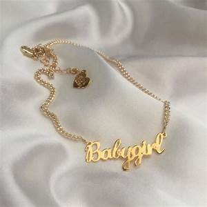 Jewels: jewelry, gold, gold necklace, gold jewelry, baby ...