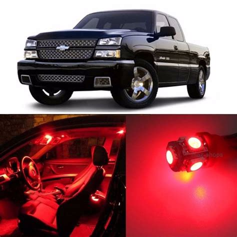 2006 silverado led lights 16 pcs led lights interior package kit for 1999 2006
