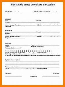 Vente Achat Particulier : exemple contrat de vente voiture d occasion voiture d 39 occasion ~ Gottalentnigeria.com Avis de Voitures
