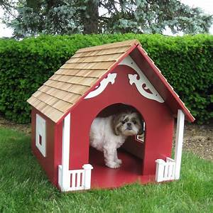 Luxury dog houses wondrous fancy dog house 28 luxury dog for Red barn dog kennel