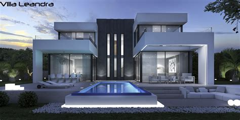 Moderne Villa Mit Pool luxus villa leandra moderne spanische villa mit pool