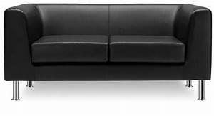 Sofa Mit Holzrahmen : b ro und empfangs sofa mit 2 oder 3 sitzen idfdesign ~ Frokenaadalensverden.com Haus und Dekorationen
