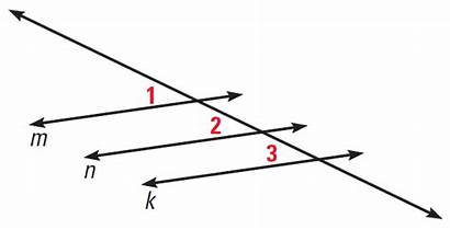Parallel Lines Properties Perpendicular Using Solution Three