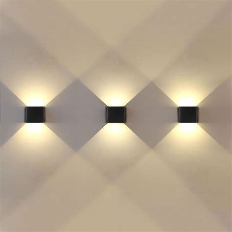 wall pictures that light up 12 led double wall light up down modern 6w 12 led