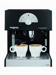 Meilleur Machine A Café Dosette : magimix machine expresso noir magimix pour caf moulu ~ Melissatoandfro.com Idées de Décoration