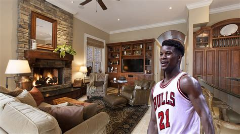 chicago bulls guard jimmy butler drops   river north mansion curbed chicago