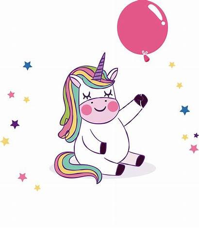 Unicorn Birthday Party Balloon Wish Freepngimg 1869