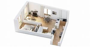 Bedroom, Floorplan, Ideas, Bedroom, Beside, Living, Room, Elegant