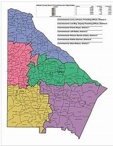 DeKalb officials still deciding on commission districts ...