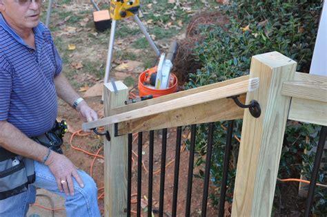 Building & Installing Deck Stair Railings   Decks.com