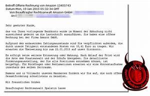 Rechnung Frist : offene rechnung von amazon erhalten achtung trojaner im gep ck mimikama ~ Themetempest.com Abrechnung
