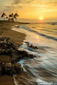 Haleiwa Beach Park Sunset