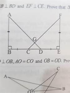 In Figure  Ab   Ef   Bc   De   Ab Is Perpendicular To Bd And Ef Is Perpendicular To Ce   Prove
