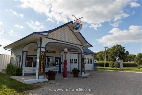 Picture Of Historic Route 66 Historic Route 66 Pictures From Illinois
