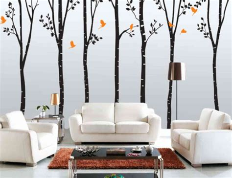 home interior wall design ideas prodigious tree picture for wall pattern ideas with white