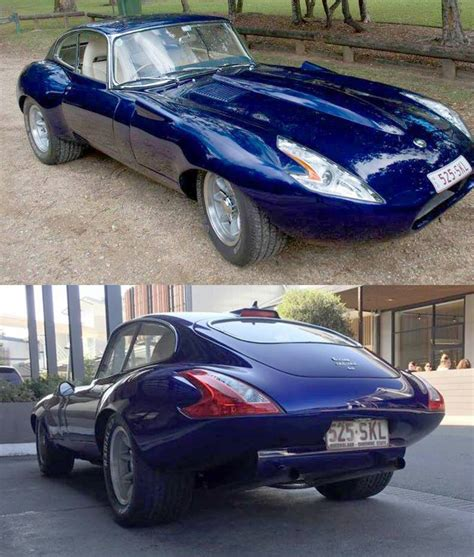 But Why? Jaguar E-type Has Nissan 370z Headlights And