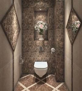 1001 idees 40 idees pour une deco wc reussie With decoration des toilettes design
